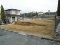 住宅団地内戸建住宅の解体