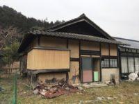 離れ戸建住宅の解体