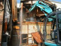 住宅密集地内集合住宅の解体